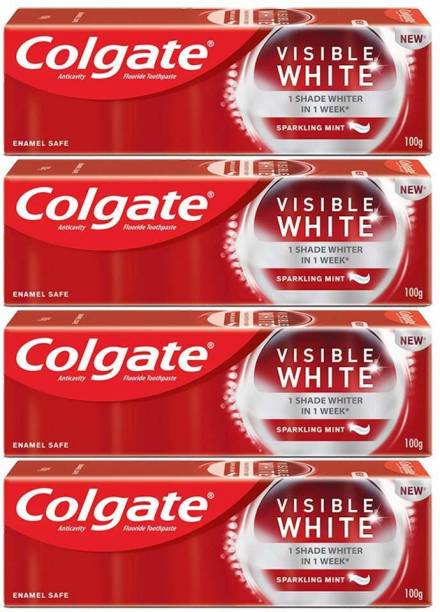 Colgate Visible White (pack of 4 ) Toothpaste