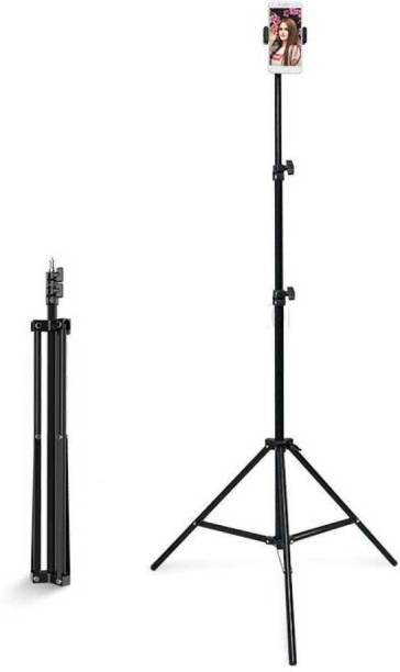 mafya Good quality 2.1m tripod stand 6.9ft flexibility and foldeble Lightweight Portable Aluminium Tripod Stand with Ball Head for Video & DSLR Cameras Tripod Bracket, Tripod Kit Monopod Kit, Tripod Kit