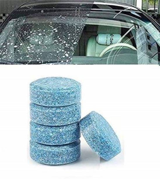 Ramya Car Wiper Detergent Effervescent Tab For Washer Auto Windshield Cleaner Glass Wash Cleaning Compact Concentrated Tools Tablet Concentrate Vehicle Glass Cleaner Vehicle Brake Cleaner