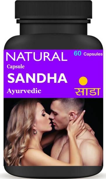 Natural Ayurvedic SANDHA Shilajit Power timing Capsule for Men