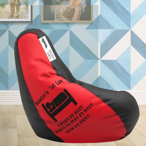 Flipkart Perfect Homes Studio Jumbo Teardrop Bean Bag  With Bean Filling