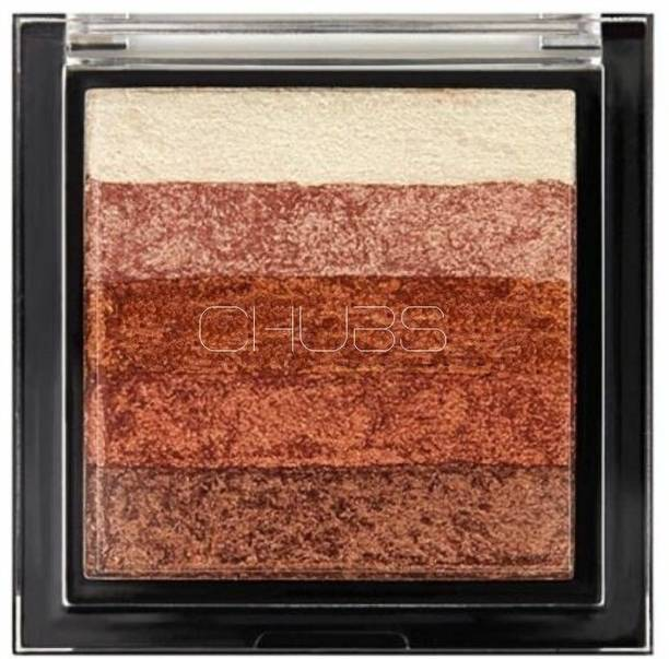 ZLENT By Chubs Shimmer Blush Palette