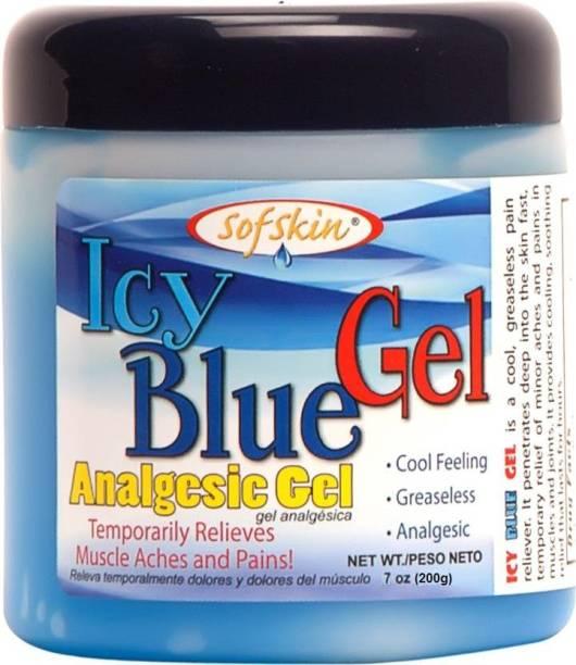 Sofskin Icy Blue Gel (Analgesic Cream) - 200 gm Gel