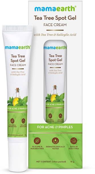 MamaEarth Tea Tree Spot Gel Face Cream with Tea Tree For Acne & Pimples