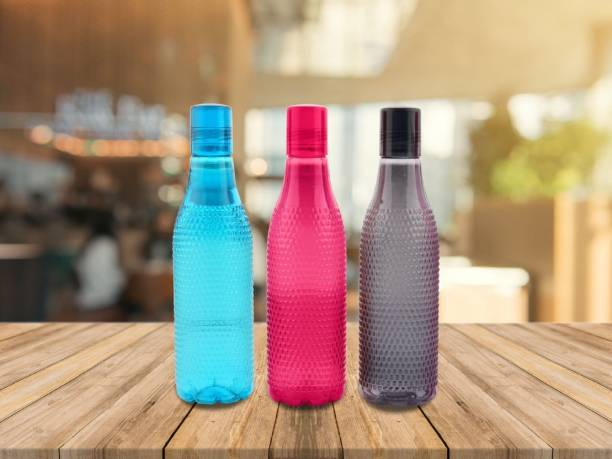 MANAKI TRADERS Premium water bottol leak proof 3 pieces combo 1000 ml Bottle