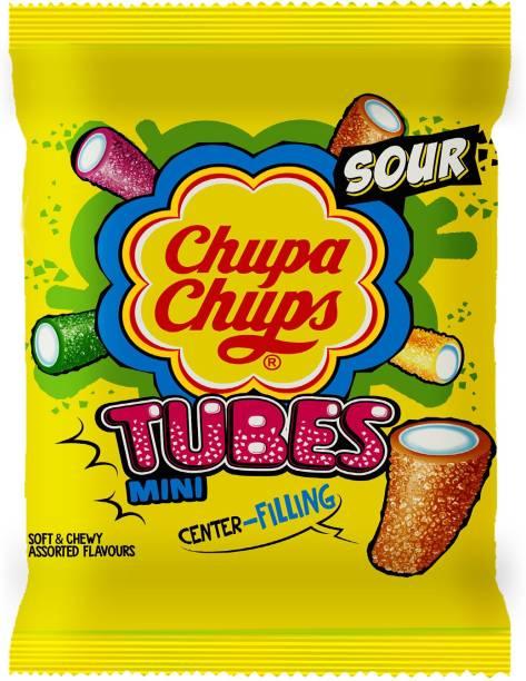 Chupa Chups Sour Mini Tubes Assorted
