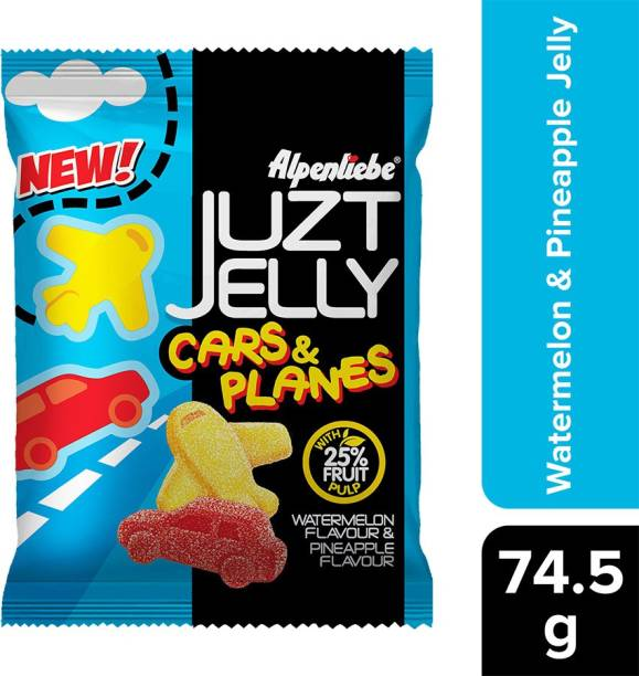 Alpenliebe Juzt Cars and Planes Watermelon and Pineapple Jelly Candy