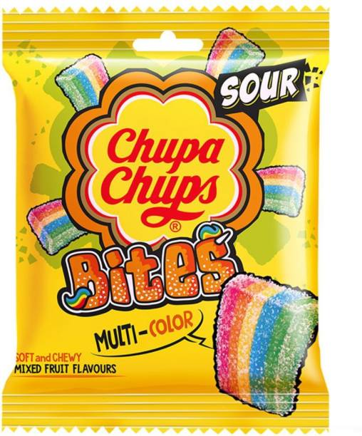 Chupa Chups Bites Mixed Fruit Sour Candy
