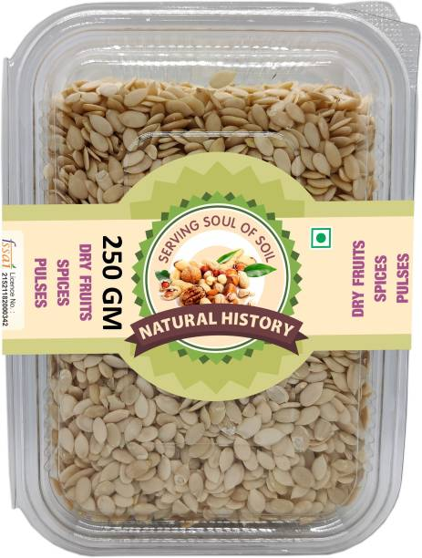 natural history Brand- Premium Watermelon Seed (Magaj Seed ) 250 Gm (Pack Of 1)