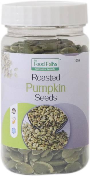 The Food Folks The Food Folks Roasted Pumpkin Seeds Small Jar (100g)