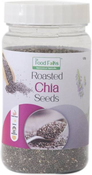 The Food Folks Roasted Chia Seeds (120g)