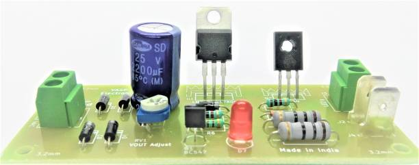 VASP Electronics 12 Volt LED Emergency Light PCB Kit Electronic Components Electronic Hobby Kit