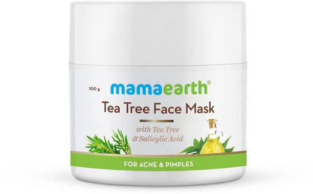 MamaEarth Tea Tree Face Mask for Acne, with Tea Tree for Acne & Pimples
