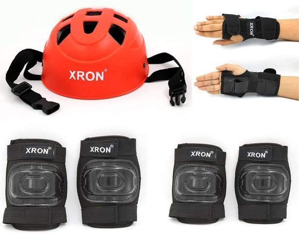 XRON Protective Set Skating and Cycling For 3 To 7 Yr Old Skating Guard Combo