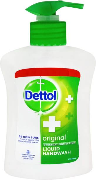 Dettol Original Hand Wash Pump Dispenser