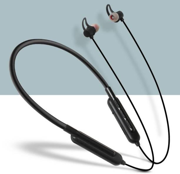 Callmate Flex Band Wireless Neckband (15 hours Backup)   TF Card   IPX4 Bluetooth Headset