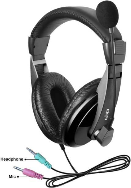 Elista Crown EW100CM MULTIMEDIA HEADPHONE WITH MIC Wired Headset