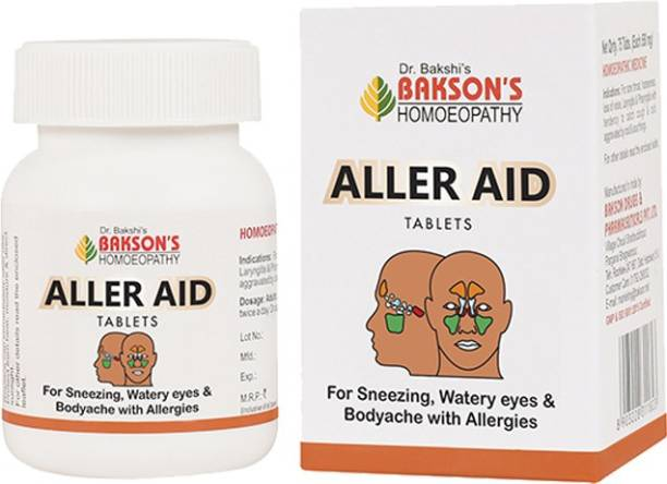 Bakson's Homoeopathy Aller Aid Tablets