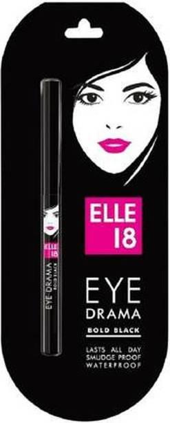 ELLE 18 Eye Drama Kajal, Bold Black