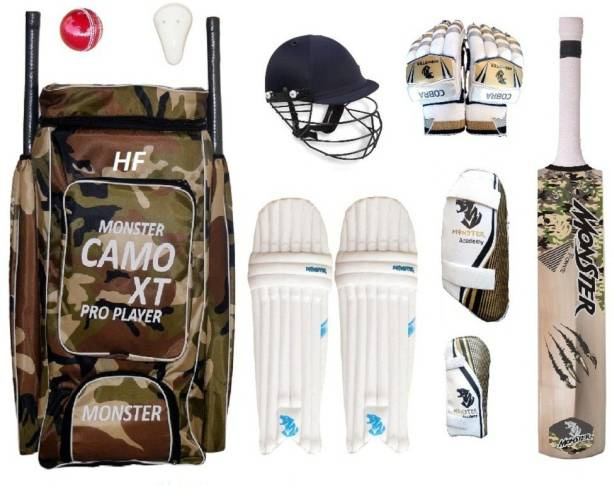 HF CAMO XT 1000 SET OF 6 NO ( IDEAL FOR 11-14 YEARS ) COMPLETE Cricket Kit