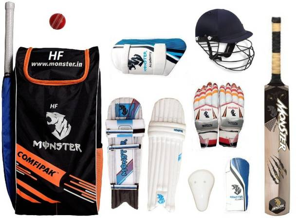 HF ACADEMY POWER CRICKET SET OF 4 NO ( IDEAL FOR 8-10 YEARS ) COMPLETE Cricket Kit