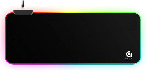 ADZOY Professional Large Extended RGB Gaming Mouse Pad, Non-Slip Rubber Base, Soft Glowing LED Gaming Desk Keyboard Pad Mat (80 X 30 X 4) Mousepad