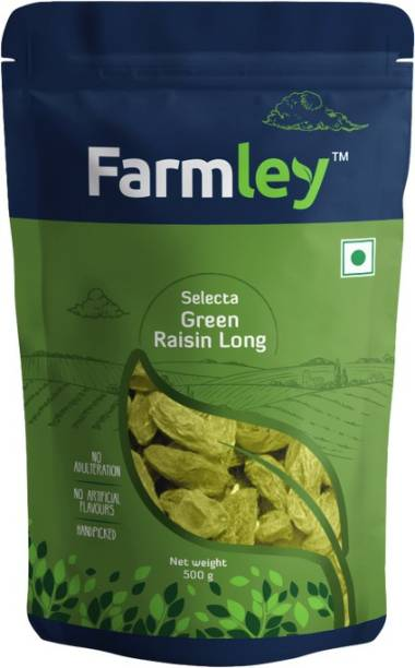 Farmley Selecta Green Long Raisins