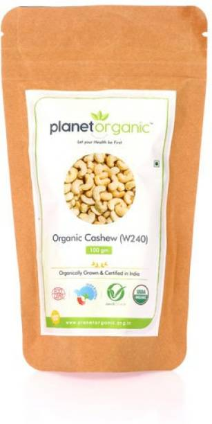 Planet Organic India Organic Cashew - 100 gm Cashews