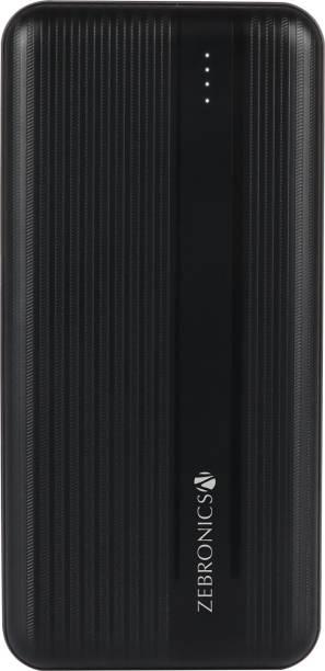 ZEBRONICS 10000 mAh Power Bank (20 W, Fast Charging)