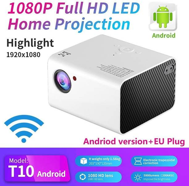 UNIC 1800 lm LED Corded Portable Projector