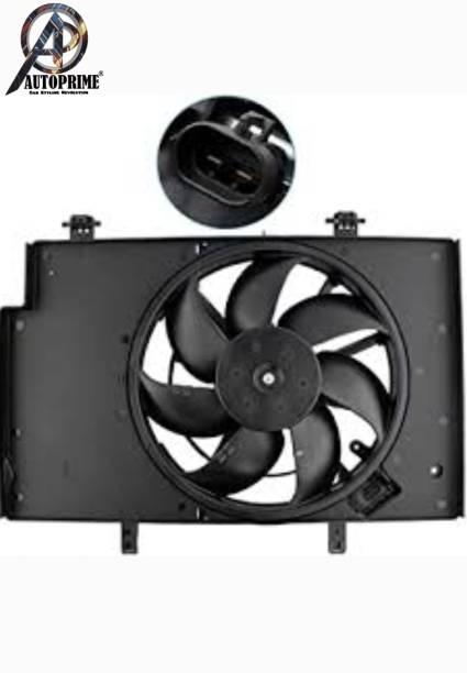 Autoprime Fiesta Titanium Single Radiator Fan Assembly