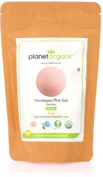 Planet Organic India Himalayan Dark Pink Salt (Free Flow) Himalayan Pink Salt