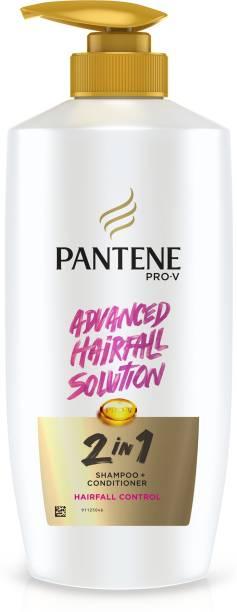 PANTENE Advanced Hairfall Solution, 2in1 Anti-Hairfall Shampoo & Conditioner Shampoo