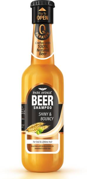 PARK AVENUE Beer Shiny and Bouncy Shampoo
