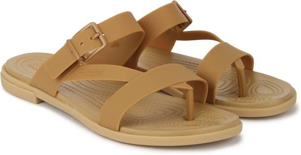 CROCS Women Gold Heels