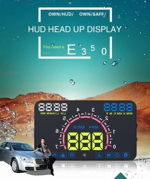 "upwade 5.8"" Multi-Color Screen Car hud Head up Display OBD2 Speed Warning Digital Speedometer"