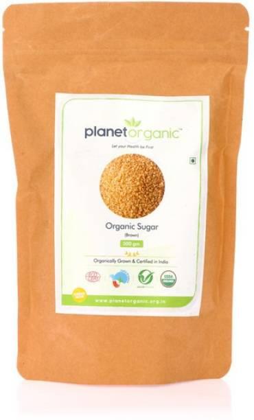 Planet Organic India Organic Sugar (Brown) Sugar