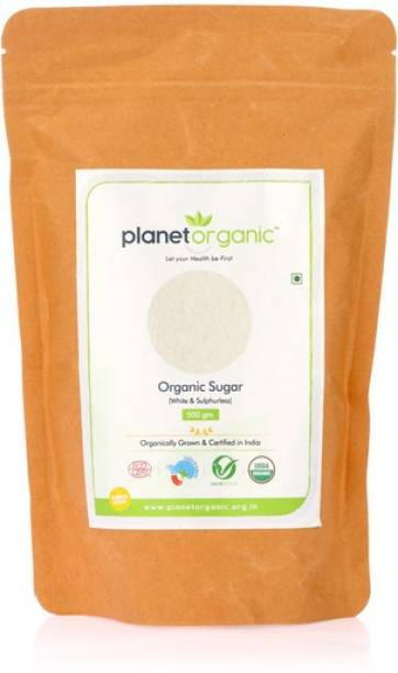 Planet Organic India Organic White Sugar (White & Sulphurless) Sugar