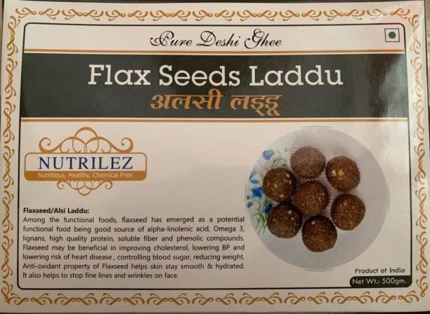 Nutrilez Flax Seed Laddu Box