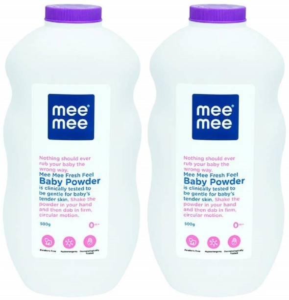 MeeMee 500G Baby Powder (Pack of 2)