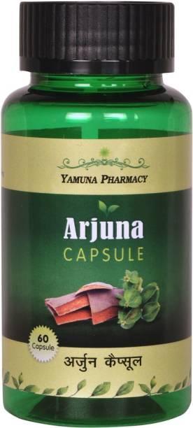 Yamunapharmacy ARJUNA CAPSULES 500 MG EXTRACT BASED HERBAL CAPSULES   60 N
