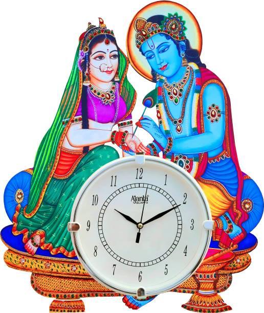 AJANTA Analog 40 cm X 36 cm Wall Clock