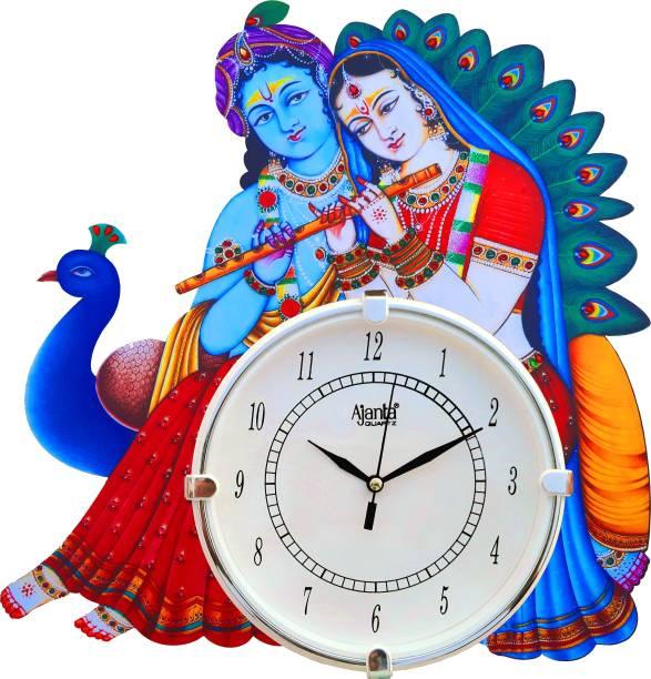 AJANTA Analog 39 cm X 36 cm Wall Clock