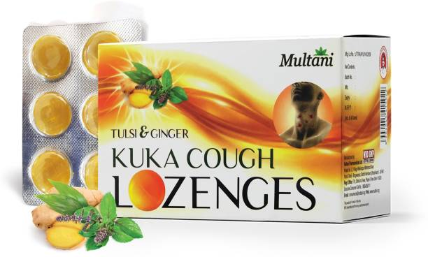 Multani Kuka Cough Lozenges   Ayurvedic   Relief From Cough, Sore Throat, Soreness & Other Throat Problems