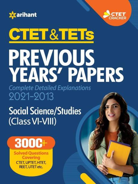 Ctet & Tets Previous Year Papers Class (6 to 8) Social Science and Studies 2021