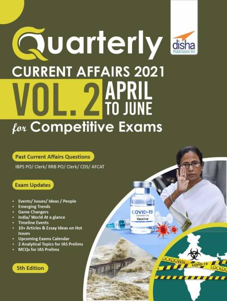 Quarterly Current Affairs April to June 2021 for Competitive Exams