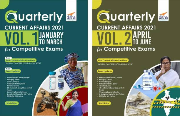 Half-Yearly Current Affairs - January to June 2021 for Competitive Exams (set of 2 Quaterlies) 5th Edition