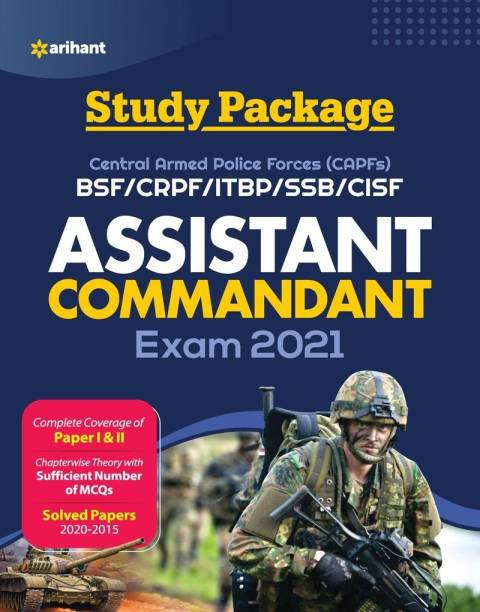 Capf Assistant Commandant Guide 2021