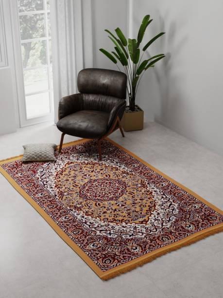 Raymond Home Beige Polyester Carpet