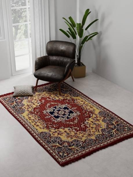 Raymond Home Maroon Polyester Carpet